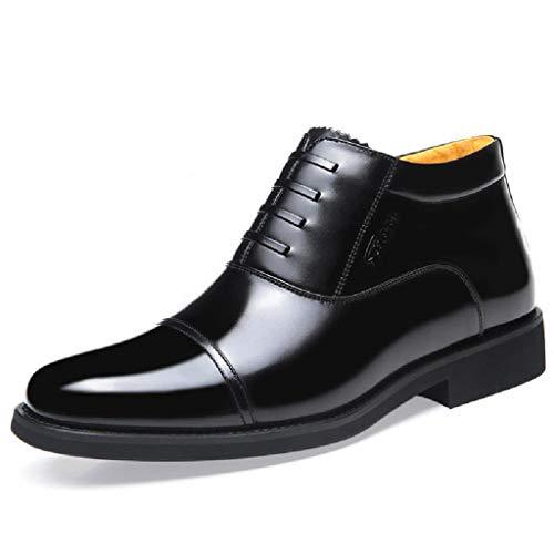Botas altas para hombres Zapatos de algodón de tacón bajo Botas cortas...