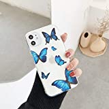 ZTOFERA TPU Back Case for iPhone 11, Butterfly Pattern