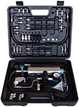 TAUFAOD Non-dismantle Fuel Injector Cleaner Kit 600ML Automotive Non-dismantle Fuel Injector Tester with Case for Petrol EFI Throttle Petrol Cars 120PSI