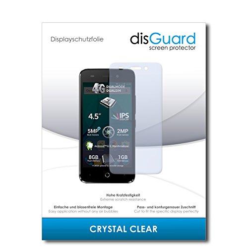 disGuard® Bildschirmschutzfolie [Crystal Clear] kompatibel mit Allview P5 Lite [3 Stück] Kristallklar, Transparent, Unsichtbar, Extrem Kratzfest, Anti-Fingerabdruck - Panzerglas Folie, Schutzfolie