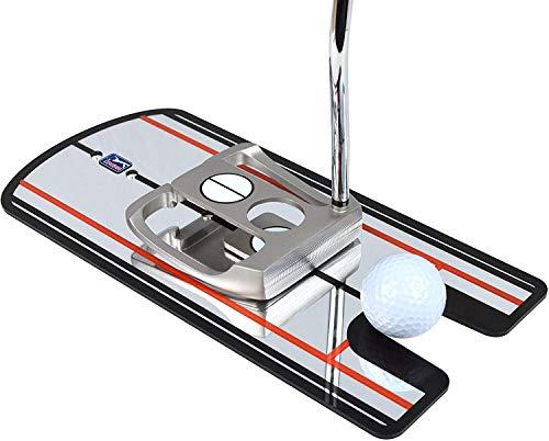 PGA TOUR Golfübungsgeräte 4 Anblicke Putten Spiegel, Blau, Nicht zutreffend