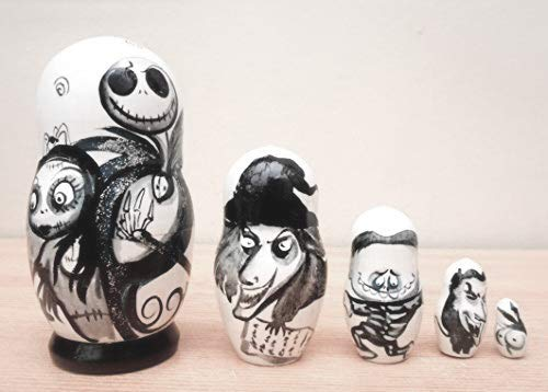 From Siberia with Love The Nightmare before Christmas Russian Nesting...