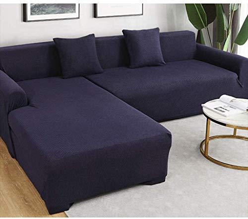 LXWLXDF-Funda de sofá 1 Pieza Cubiertas elástico espesado Sofá, todo incluido cobertura universal Sofá cubrir los muebles protector for el sofá cubierta nórdicos cuatro estaciones Cubierta de polvo un