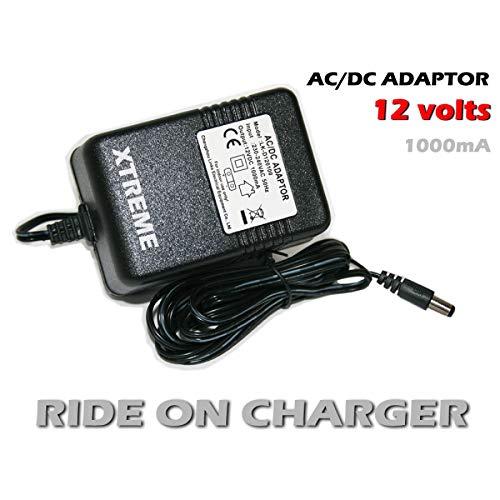 12 Volt Elektro Kinderauto Ladegerät, 12V Batterie Ladegerät für Kinder Elektrofahrzeug Mercedes Benz Audi BWM Elekstrisches Auto Spielzeug