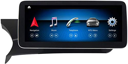 Android 10 Coche STEEREO Player Multimedia GPS Navigation 10.25 pulgadas Pantalla táctil WiFi Scream Scream SCHC SAT NAVE Unidad para Mercedes Benz C Class W204 2011-2014 Coche