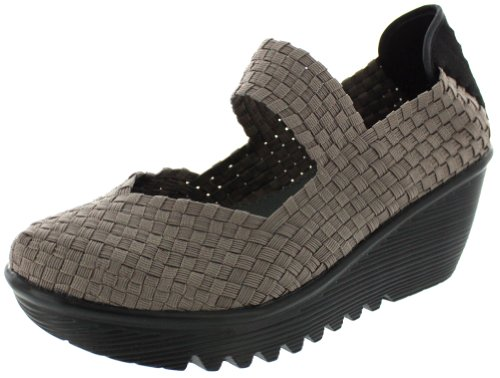 Bernie Mev womens Lulia pumps shoes, Smoke, 10 US