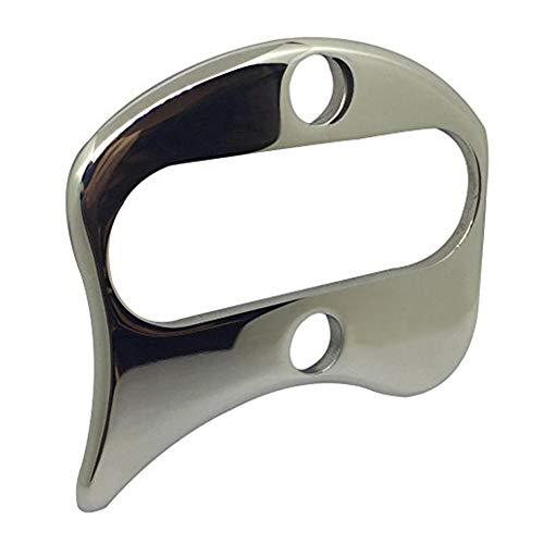 Herramientas de raspado del cuerpo de acero inoxidable, músculos doloridos de uso múltiple, liberación de tejidos blandos, fácil de agarrar y manejar, pulido, ideal para raspador miofascial casero