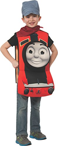 Rubies Thomas and Friends Deluxe 3D James The Red Engine Costume, Child Small