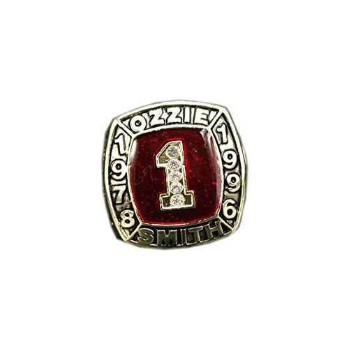 Fei Fei 1978 1996 MLB Baseball Hall of Fame Ozzie Smith Championship Ring Campione Anello Uomo Super Bowl Campionato Collezione Commemorativa Anelli da Uomo,Without Box,11#