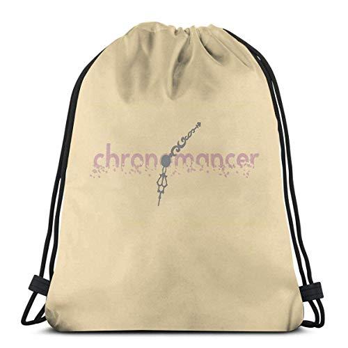 Gw2 - Chronomancer Sport Sackpack Kordelzug Rucksack Gym Bag Sack