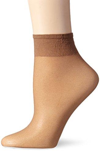 L'eggs Women's Everyday Ankle High Sheer Toe, Suntan, One Size