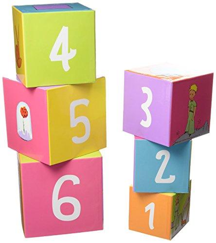 Petit jour paris - Jeu de cubes en carton le petit Prince
