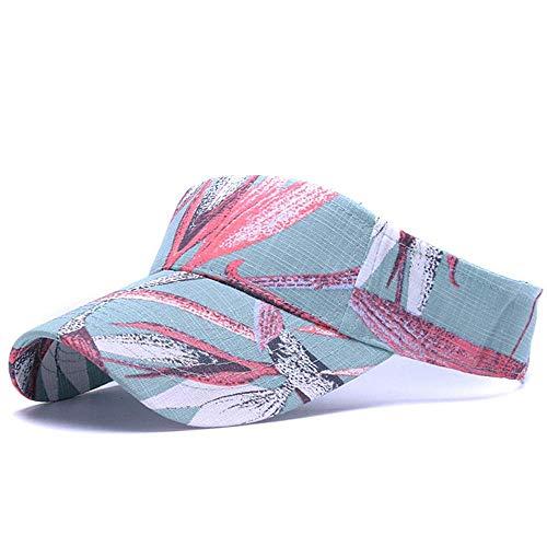 Unisex Sonnenhüte Sommer Strandhut Schirmmütze Mädchen Blumensporthüte Tennismütze Outdoor Leer Top Cap Hut