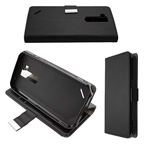 caseroxx custodia per Ulefone Armor X5 / Armor X5 Pro, Bookstyle-Case Custodia protettiva book cover per smartphone in colore nero