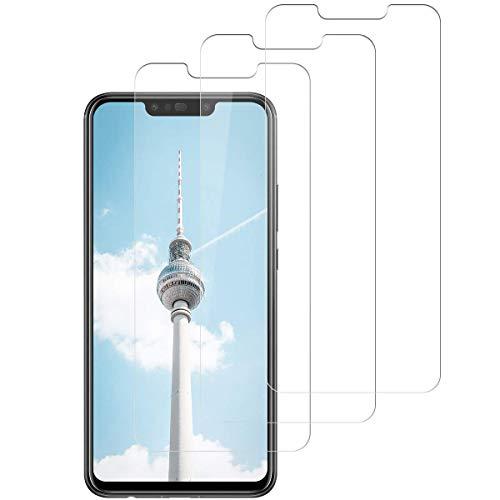 SNUNGPHIR Vetro Temperato Pellicola Protettiva per Huawei P Smart Plus Protezione Schermo Huawei P Smart Plus Screen Protector Anti graffio Anti Bolle Anti-Impronta Trasparente Durezza 9H [3 Pezzi]