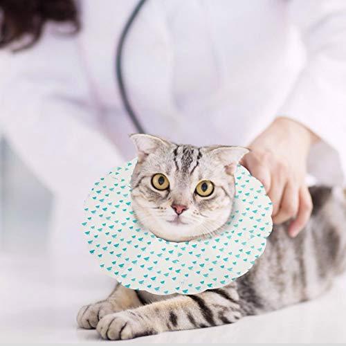 Einstellbare Größen, Hundeschutz-Sicherheitsschutz, geeignet für kleine, mittlere und große Katzen und Hunde,(volcanic, S)