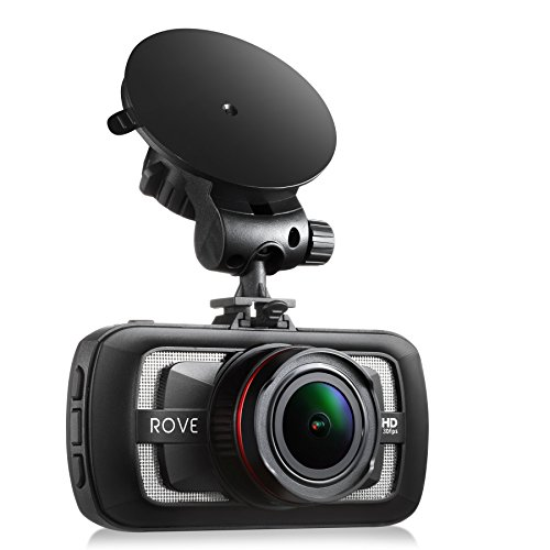 Rove A12-60 - 2.7K Quad HD 1440P at 30fps- Car Dash Cam HDR Superior Nigh Vision Ambarella A12-A55...