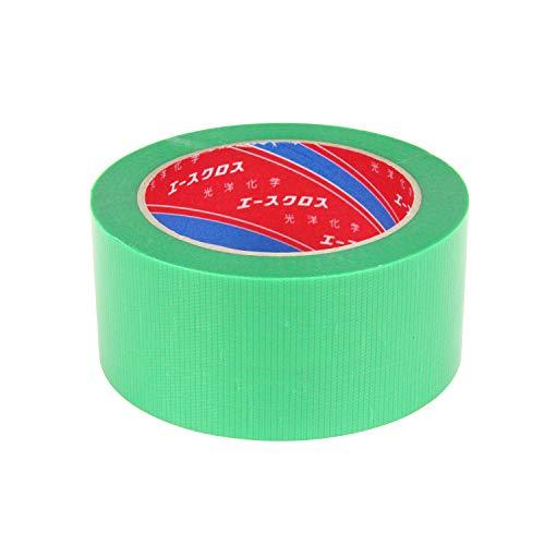 光洋化学 養生テープ 建築塗装養生 エースクロス YG 緑 強粘着タイプ 50mm×25M [マスキングテープ]