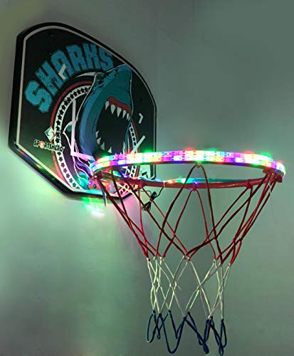 Great Features Of iGREATWALL Light Up Basketball Glowing Night Game Street PU Rainbow Light Training...