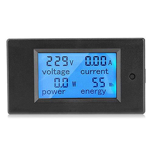 Pannello digitale LCD 100 A 80~260 V Voltmetro Amperometro Multimetro Tester Misuratore di Tensione in kWh e W