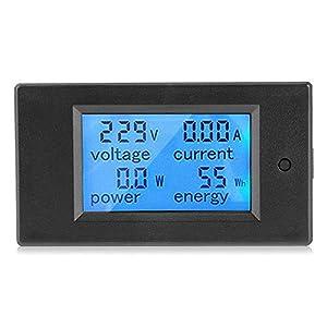Panel Lcd Digital 100A Ca 80~260V Medidor de Potencia Digital Voltaje Kwh Vatio VoltíMetro AmperíMetro MultíMetro Probador Medidor