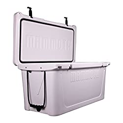 Premium Pick for Best Large Cooler: Mammoth Coolers 125-Quart Ranger MR125W Cooler in White