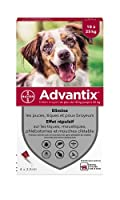 Advantix Spot-on per Cani dai 10Kg ai 25Kg - 4 pipette da 2.5ml