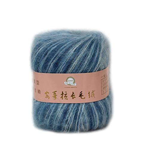 NAIXUE suave Mohair cachemira hilo de tejer lana DIY chal bufanda ganchillo hilo suministros