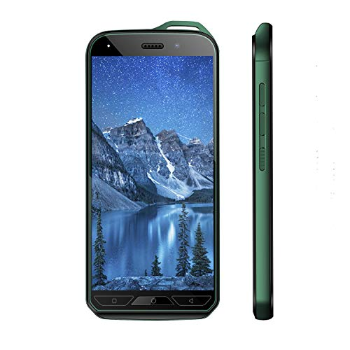 V·Mobile X6 Unlocked Cell Phones 4G, Android 8.1, 16GB ROM/32GB Expansion with 5.2 inch HD Screen 5MP Dual Camera 2800mAh Battery Dual Sim 2 + 1 Card Slots Smartphone (Green)