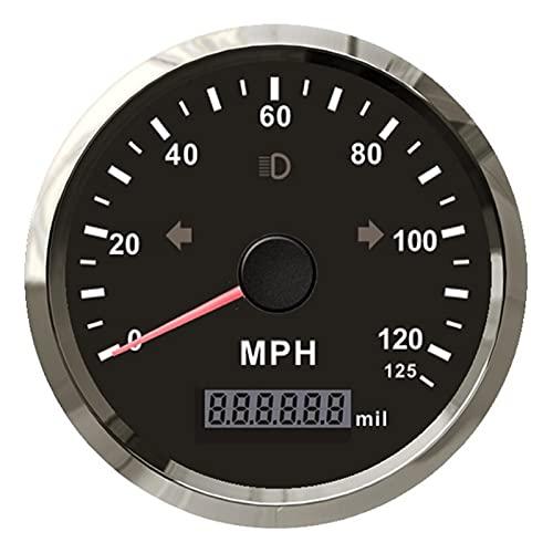 September Department Store 85mm MPH GPS Odómetro de velocímetro 12 5 mph MILLAJE AJUSTE DESPUÉS DE AVANTE DE AUMENTACIÓN for EL AJUSTE DE LA MOTOR DE LA MOTOR DE LA MOTOR for EL CAMIÓN DE COCHE CON GP