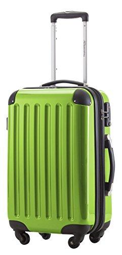 Set di 3trolley capitale 42, 74& 119Litri o in verde mela con o senza TSA con cultura borsa verde verde mela 42 Liter mit TSA-Schloss
