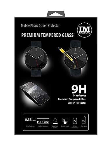 EnergMiX displaybeschermglas compatibel met Motorola Moto 360 Smartwatch // kogelvrij gehard glas bescherming glas extreem krasbestendig veiligheidsglas