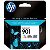 HP Original Farb-Tintenpatrone für Officejet 4500Wireless All-in-One Drucker–G510N–HP 901(CC656A)