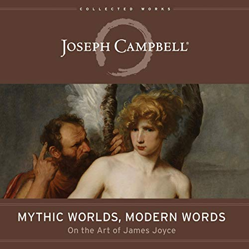 Mythic Worlds, Modern Words audiobook cover art