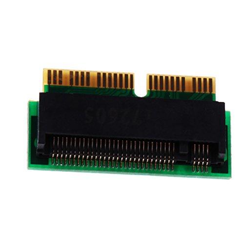Sharplace A1465 Convertitore SSD PCIe x4 M.2 NGFF Con 12 + 16pin Per Macbook