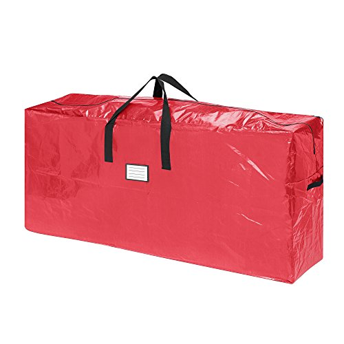 Elf Stor 83-DT5511 Premium Red Christmas Bag Holiday Extra Tall for up to 9 ...