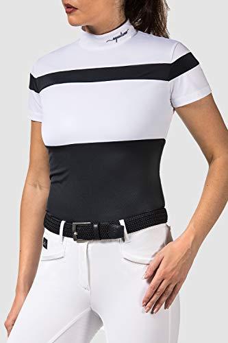 Equiline Womans Comp Polo Shirt Gloria blau XS