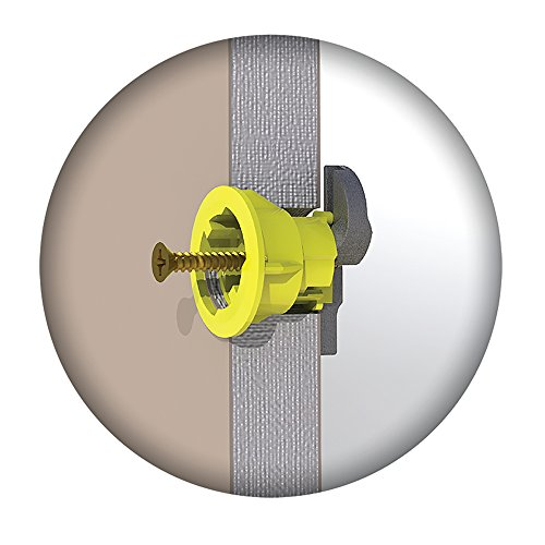 15MM PLASTERBOARD FIXINGS /& SCREWS HOLLOW CAVITY WALL GRIPIT UP TO 71KG