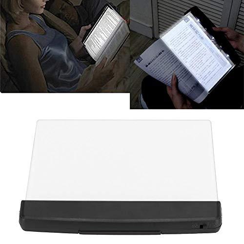 Yunir Lightwingge de Lectura LED, Libro de Panel de protección Ocular Lectura LED Tablero de luz Brillante para Lectura Nocturna