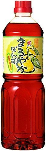 まろやかぽんず 1L /ヒガシマル醤油(2本)