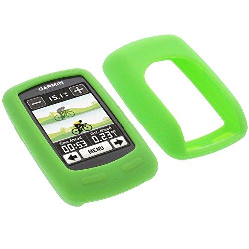 foto-kontor Funda para Garmin Edge 800 Edge 810 Protectora Silicona Carcasa protección Verde