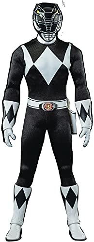 ThreeZero Mighty Morphin Power Rangers: Black Ranger 1:6 Scale Collectible Figure