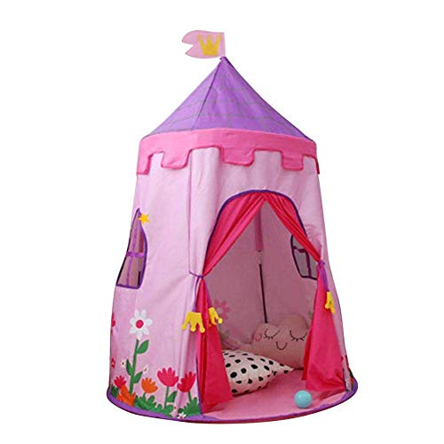 Qazxsw Tipi Tent for Children Princess Castle Play Tent for Children with Stars 150 110 cm Pink Blue Blue