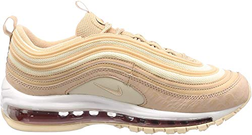 Nike W Air Max 97 LX, Scarpe da Atletica Leggera Donna, Multicolore Bio Beige/Light Carbon 201, 42 EU