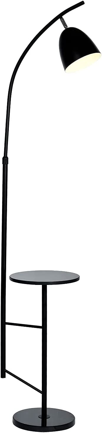 O'NEELDY Modern LED Ranking TOP11 Floor Lamps with Shelves Marble specialty shop Bedroom for