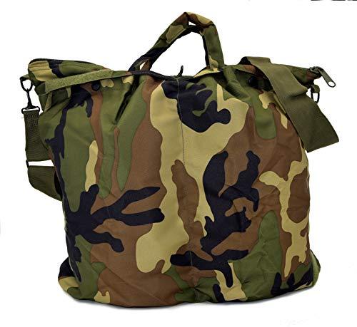 The Aerodyne Borsa Porta Casco da Volo Pilota Militare Flight Helmet Bag (Camo Woodland)