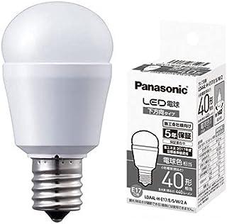 パナソニック LED電球 下方向タイプ 電球色相当 小形電球40形相当 440lm 口金E17 LDA4L-H-E17/E/S/W/2 A