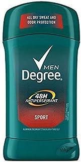 Degree Men Protection Antiperspirant Deodorant, Sport 2.7 oz (Pack of 2)