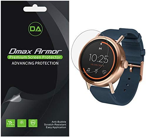 [6-Pack] Dmax Armor for Misfit Vapor 2 (41mm) Screen Protector, Anti-Bubble High Definition Clear Shield