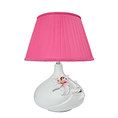 Lampe de Table Décoration, Lampe de Table Rurale Salon Chambre Chambre d'Enfant Lampe de chevet Lampe de Table Alimentation Bouton d'Alimentation Bouton 1 Tête E27 30 * 46CM (Couleur : C)